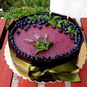 Áfonyás torta